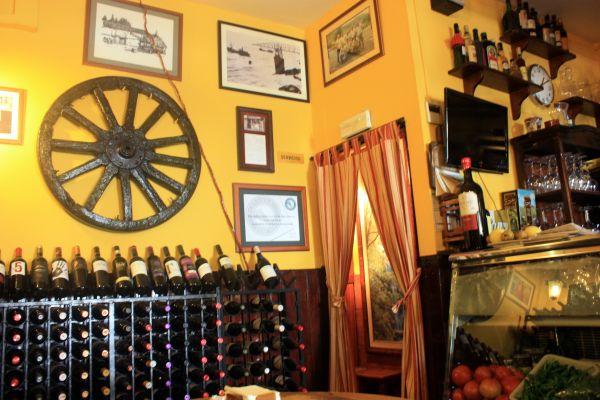 Bygone tavern flair at Restaurante Ramon.