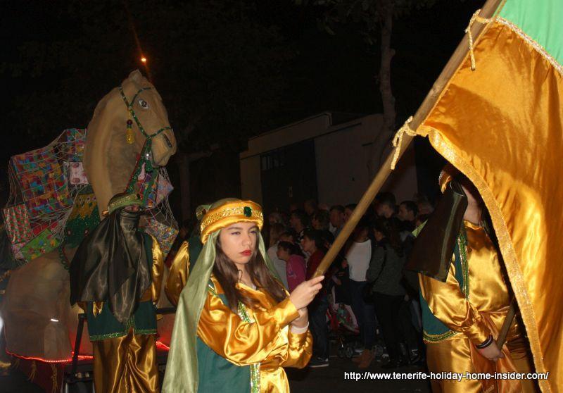 Cabalgata de Reyes Magos Puerto de la Cruz