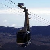 Cable car like the Telerifico del Teide