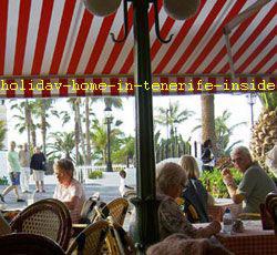 Cafe de Paris oldest and renown of Tenerife Puerto de la Cruz