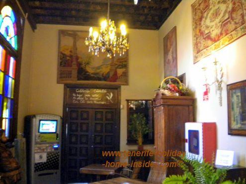 Cafe Grimaldi former historic cafe of Casa Lercaro in La Orotava.