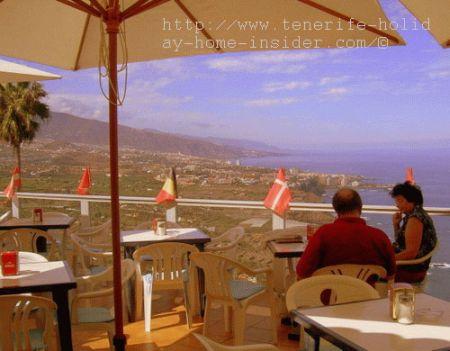 Cafe Vista Paraiso of Cuesta de la Villa