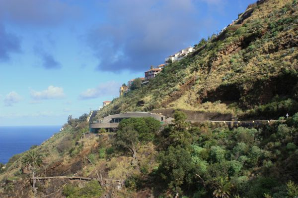 Cafeteria Restaurante and Bar Humboldt on its steep slope high above La Orotava Valley.