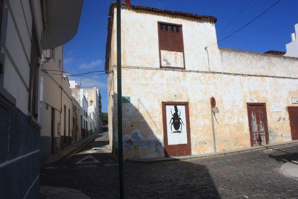 Calle Cantillo Cobble stone street in  Isla Baja town.
