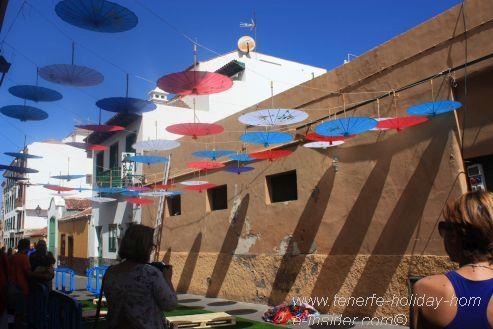 Calle Mequinez overhead Mueca decoration of 2017
