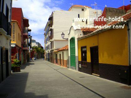 Street Calle Mequinez Puerto de la Cruz