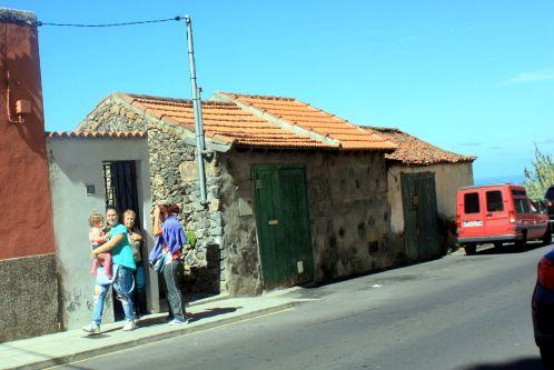 Calle Siete Fuentes in 2017 - former Los Realejos del Abajo.