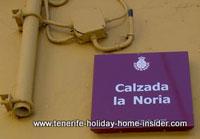 Calzada  (passage) Noria Santa Cruz Tenerife