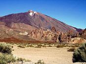 Sunny Canadas below Teide Tenerife