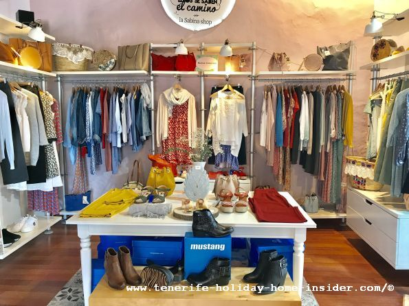 La Sabena Shop of Canary clothes design of Lady fashion and accessories