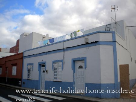canary island house near end of Longuera