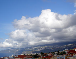 Canary Islands weather 5 pm 27th march 2009
