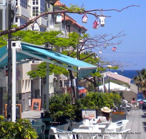 Candelaria by stunning passage near port