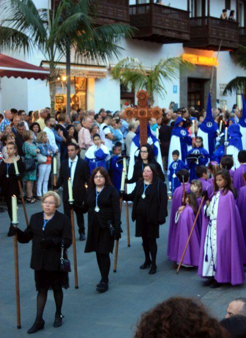 Candle bearers Puerto de la Cruz.
