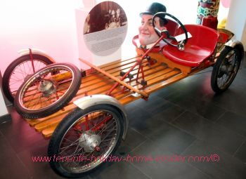 Carnival car from Spain