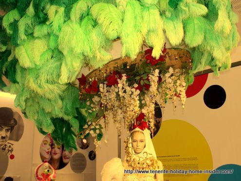 Carnival fantasy worn by Tenerife Queen Monica Raquel Estévez Martin way back in 1987.