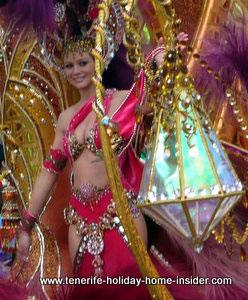 Carnival princess Tenerife