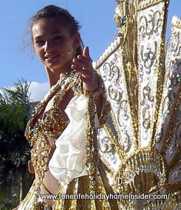 Carnival queen Santa Cruz de Tenerife  Spain an example of year 2012.