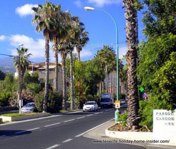Carretera Las Arenas Puerto Cruz