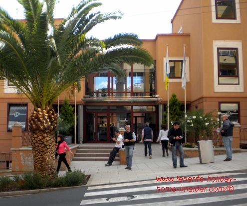 Casa Consistorial Los Realejos by photo taken in 2015