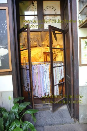 Casa de los Balcones Tenerife with a glimpse into its treasure chest for shopping