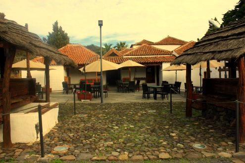 La Casona or Casa del Patio of Santiago del Teide Tenerife.