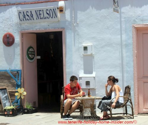 Casa Nelson of legendary Tenerife restaurants which is now shut, as the owner left it.