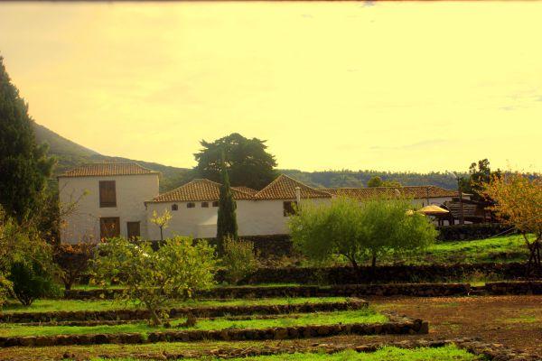 Casa Patio view from street Avda.Gral Franco of Santiago del Teide.