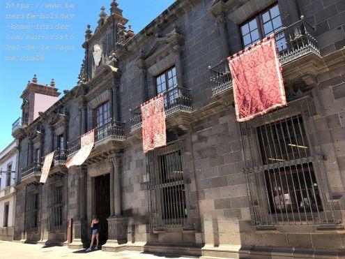 Casa Salazar now the Bishop seat of San Cristobal de La Laguna. Find this Opispado at#16 in the map