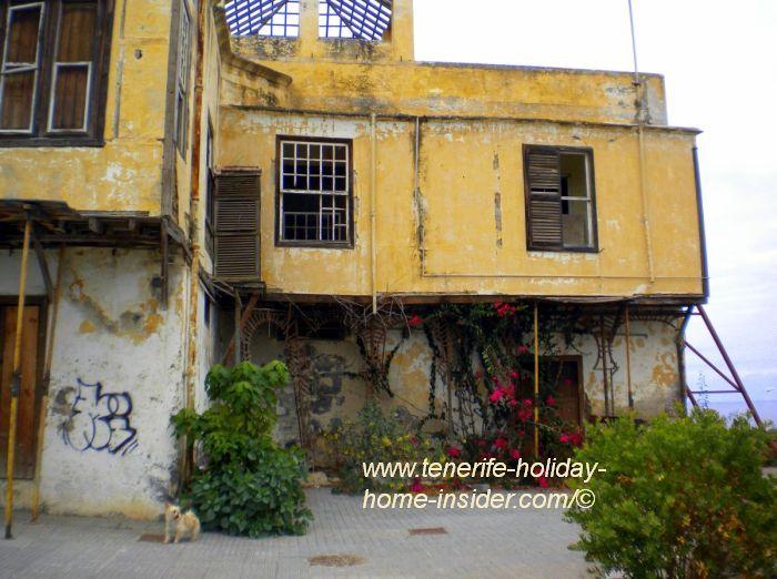Casa Tolosa ruin of the San Fernando suburb