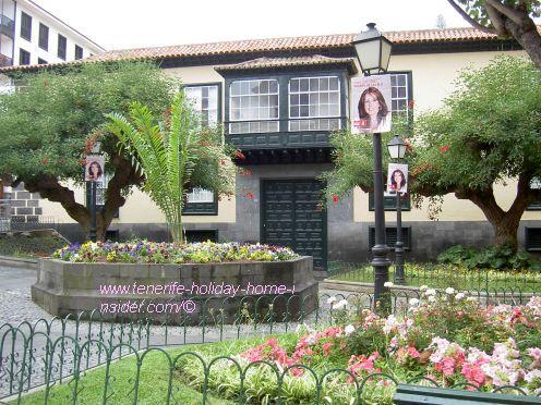 Casa Ventosa of former historical Irish merchant.