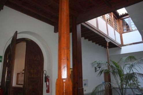 Casona de los Trujillo now Los Silos City Hall.