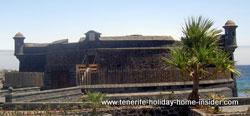 Castillo Negro Black Fort Santa Cruz Tenerife Canary Islands