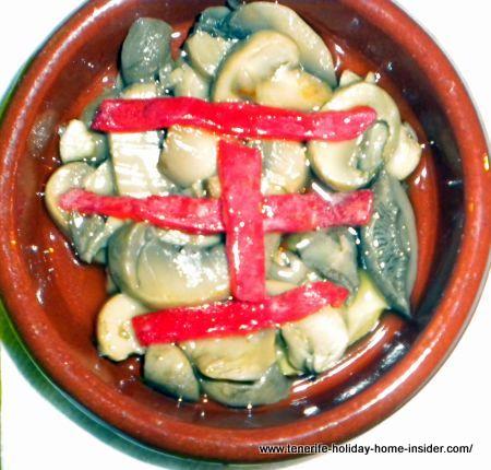 Champignon (mini)casserole (cazuelilla)
