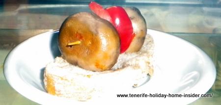 Champignon Pinchito (Pintxito) Pinchito  de seta