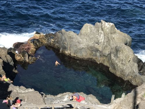 Charco La Laja Tenerife jewel of a tide pool in San Juan de la Rambla by the sea