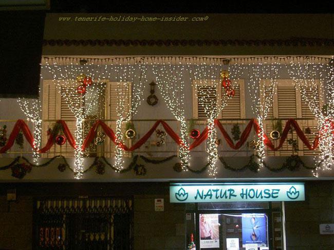 Christmas lights Tenerife for Photo sharing Digital night ...