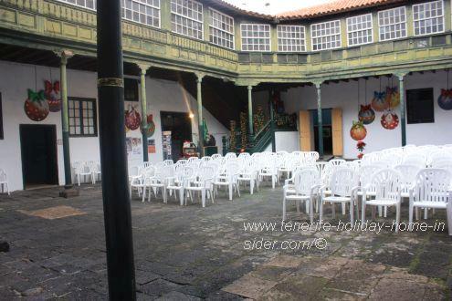 Christmas exhibition center for nativity scenes within Casa Ventosa.