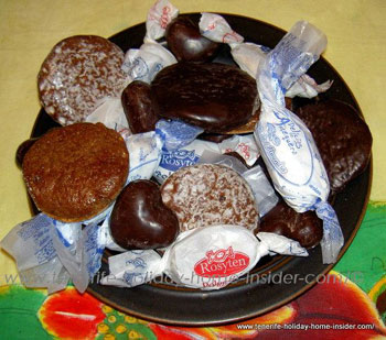 Christmas sweets by Carmen
