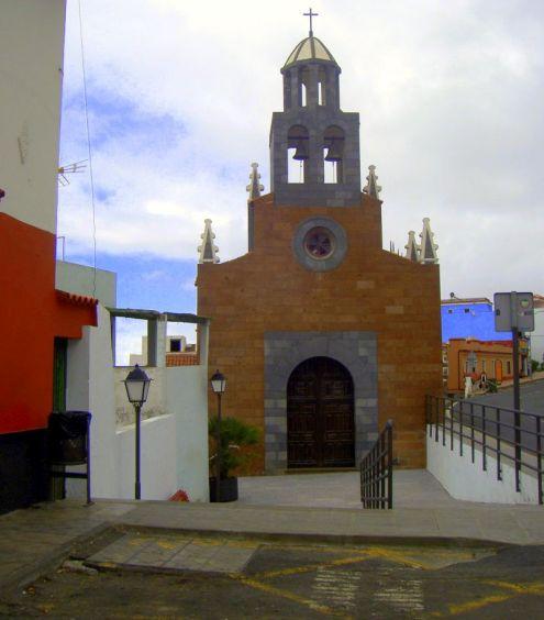 Church Iglesia de Nuestra Senora de Buen Viaje at Upper Icod of Los Realejos.