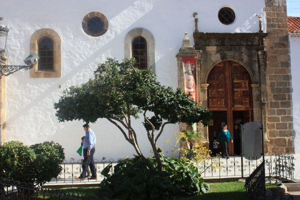 Church Iglesia de la Conception by De Lugo's hacienda.