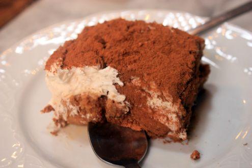 Cinnamon cream tart dessert