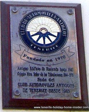 Classic car club nifu nifa Tenerife