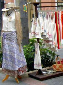 Clothes of cotton found Puerto de la Cruz