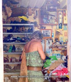 Cobbler workshop La Orotava Tenerife