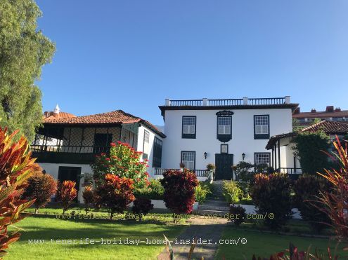 The Cologan Valois estate in La Paz of descendants of this important historic pioneering family that helped to make Puerto de la Cruz wealthy by wine exports