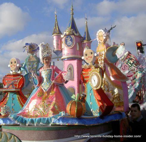 Coso infantil children carnival Santa Cruz