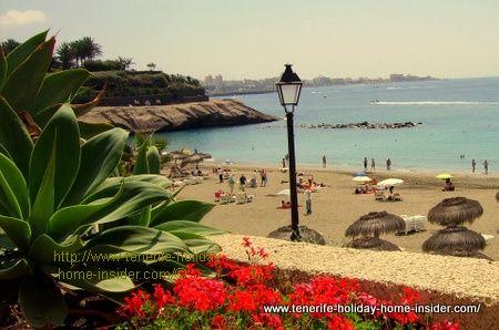 Costa Adeje of Tenerife Spain
