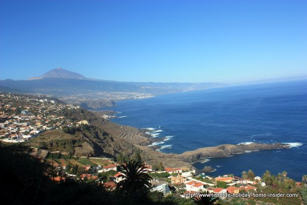 Costa del Sauzal with Teide