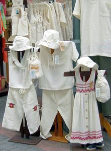 Cotton clothes Tenerife often made in South America